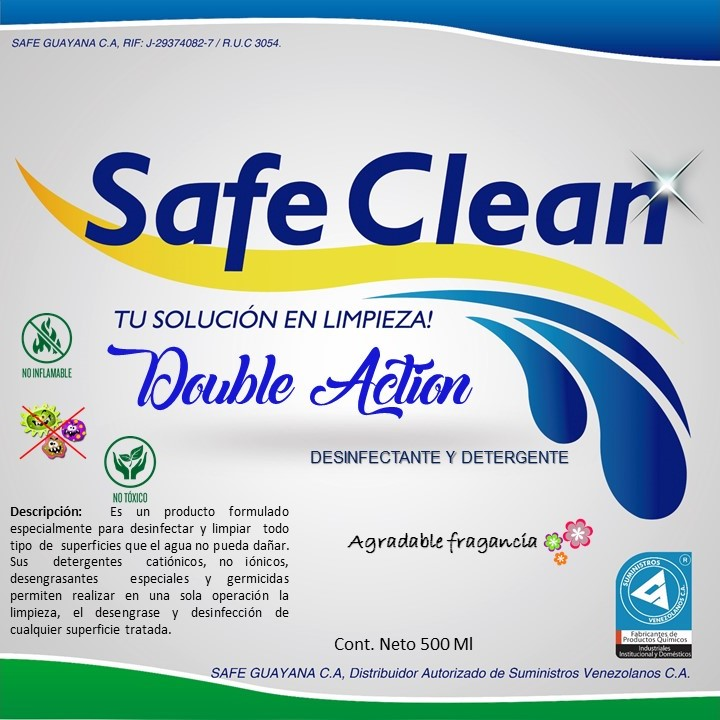 DOUBLE ACTION - Productos Safe Guayana