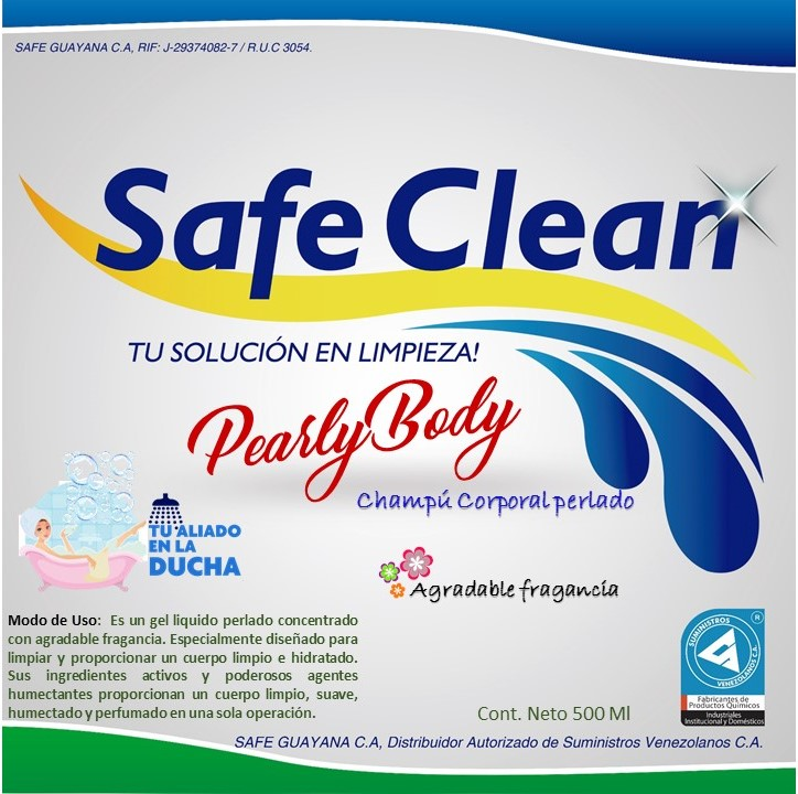 PEARLYBODY - Productos Safe Guayana